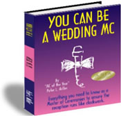 You can be wedding MC